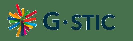 G-STIC logo (blue, horizontal)